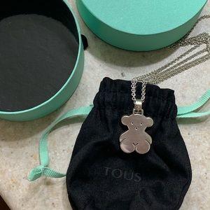 Authentic Tous Bear Necklace